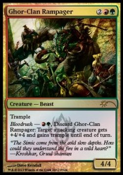 Ghor-Clan Rampager, Friday Night Magic