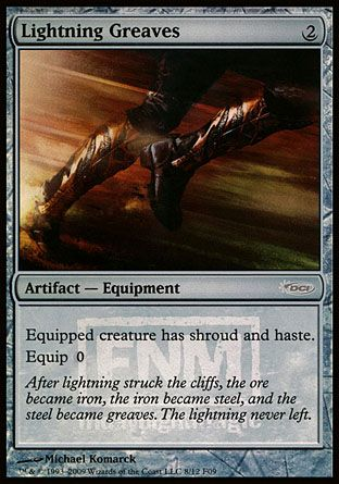 Lightning Greaves, Friday Night Magic