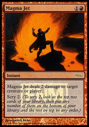 Magma Jet, Friday Night Magic