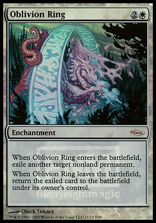 Oblivion Ring, Friday Night Magic