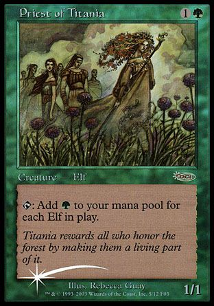 Priest of Titania, Friday Night Magic