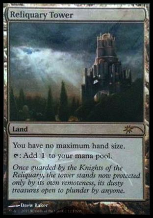 Reliquary Tower, Friday Night Magic