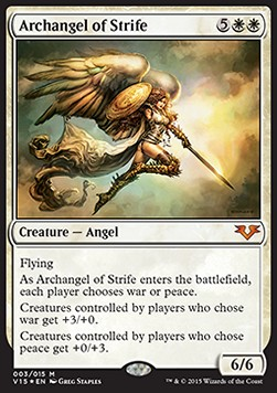 Archangel of Strife, From the Vault Angels