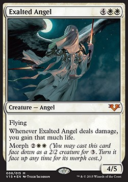 Exalted Angel, From the Vault Angels