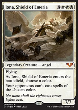 Iona, Shield of Emeria, From the Vault Angels