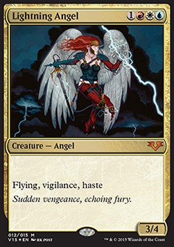 Lightning Angel, From the Vault Angels