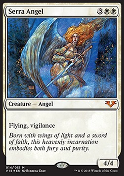Serra Angel, From the Vault Angels