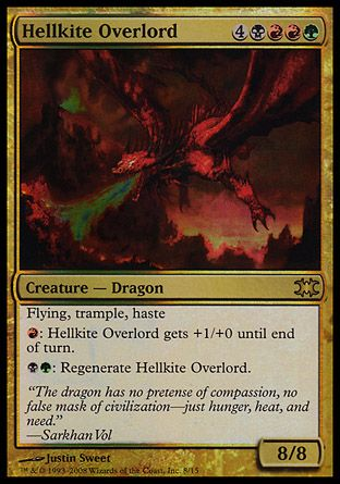 Hellkite Overlord, From the Vault Dragons
