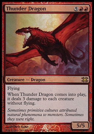 Thunder Dragon, From the Vault Dragons