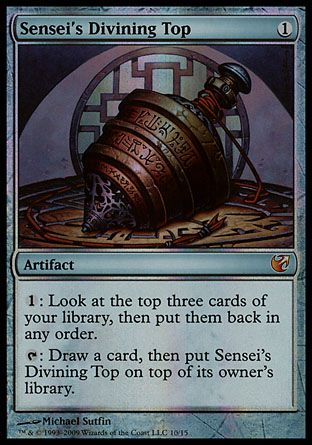 Sensei's Divining Top, From the Vault Exiled