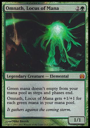 Omnath, Locus of Mana, From the Vault Legends