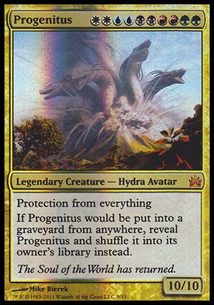 Progenitus, From the Vault Legends