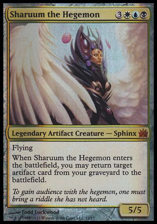 Sharuum the Hegemon, From the Vault Legends