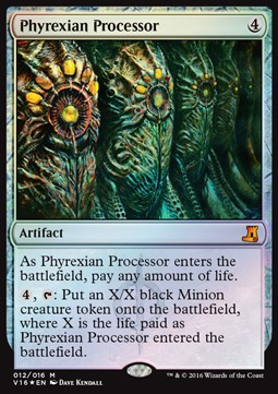 Phyrexian Processor, From the Vault Lore