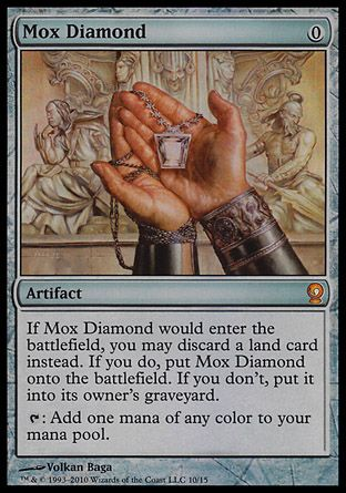 Mox Diamond, From the Vault Relics