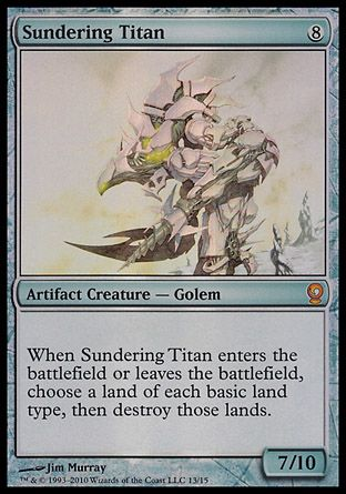 Sundering Titan, From the Vault Relics