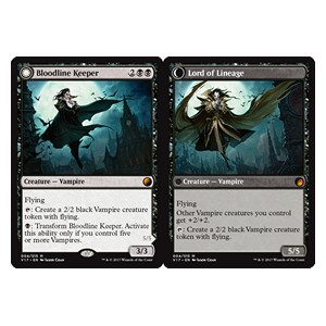 Bloodline Keeper / Lord of Lineage, From the Vault Transform