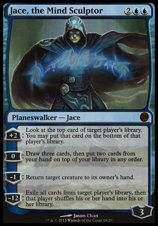 Jace, the Mind Sculptor, From the Vault Twenty