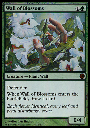 Wall of Blossoms, From the Vault Twenty