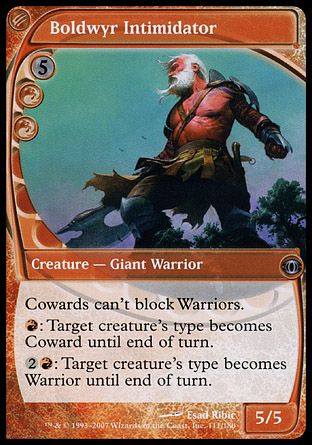 Boldwyr Intimidator, Future Sight