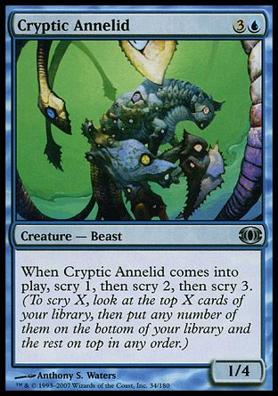 Cryptic Annelid, Future Sight