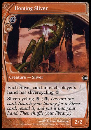 Homing Sliver, Future Sight