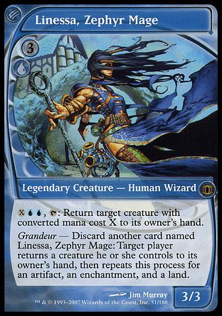 Linessa, Zephyr Mage, Future Sight
