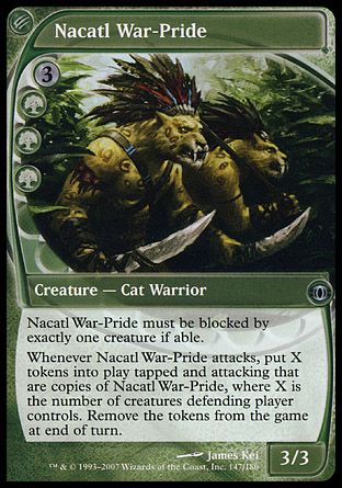 Nacatl War-Pride, Future Sight