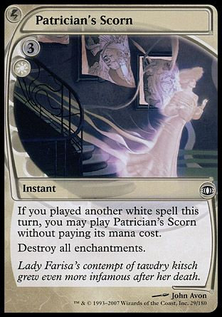 Patrician's Scorn, Future Sight