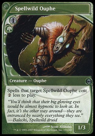 Spellwild Ouphe, Future Sight
