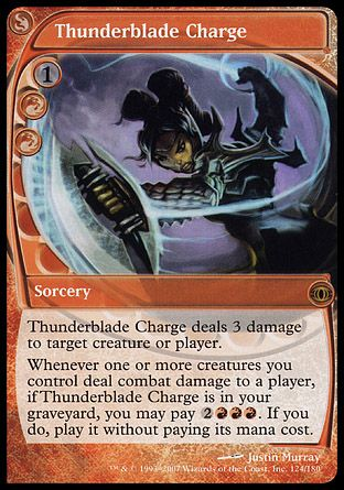Thunderblade Charge, Future Sight