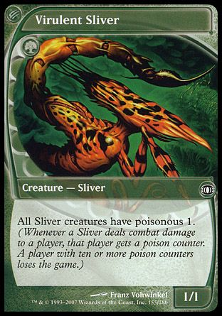 Virulent Sliver, Future Sight