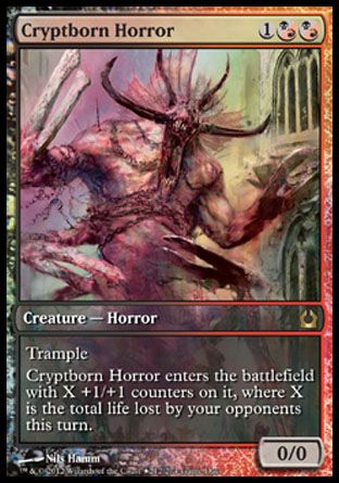 Cryptborn Horror, Game Day