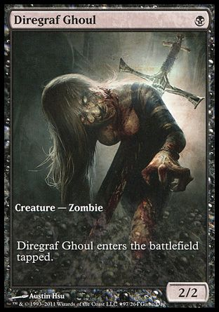 Diregraf Ghoul, Game Day