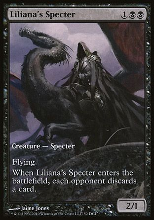 Liliana's Specter, Game Day