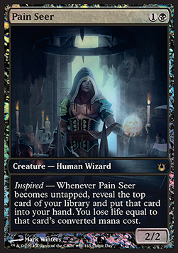 Pain Seer, Game Day