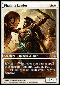 Phalanx Leader, Game Day