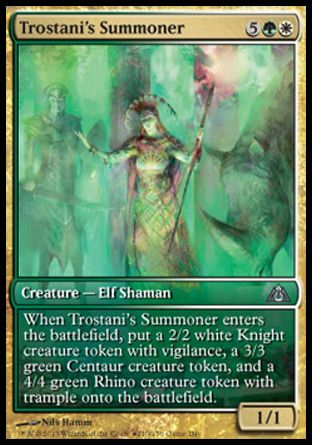 Trostani's Summoner, Game Day