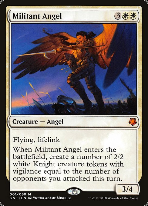 Militant Angel, Game Night
