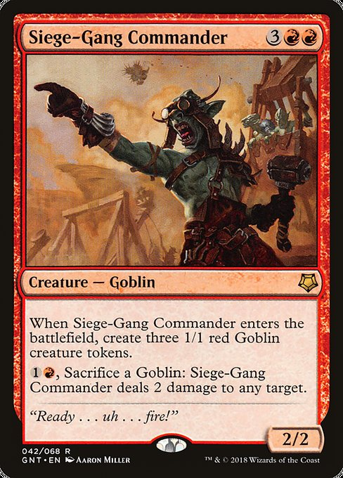 Siege-Gang Commander, Game Night