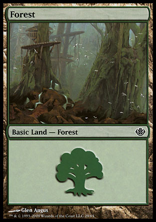 Forest, Garruk vs Liliana