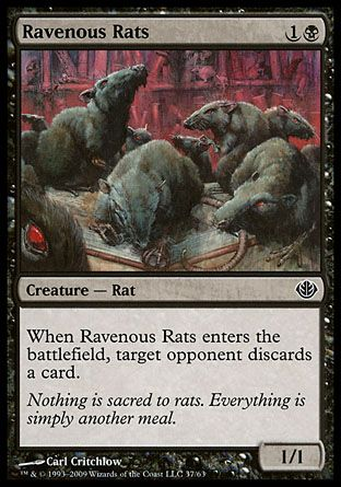 Ravenous Rats, Garruk vs Liliana