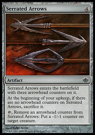Serrated Arrows, Garruk vs Liliana