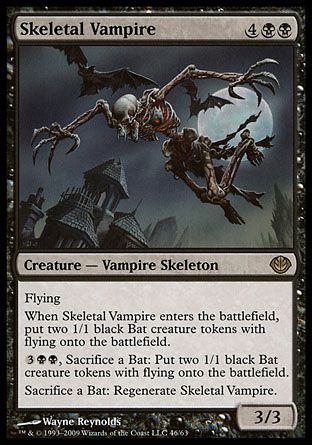 Skeletal Vampire, Garruk vs Liliana