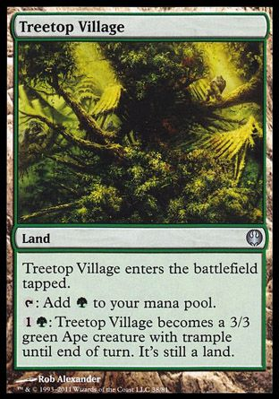 Treetop Village, Garruk vs Liliana