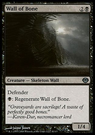 Wall of Bone, Garruk vs Liliana