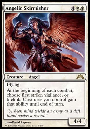Angelic Skirmisher, Gatecrash