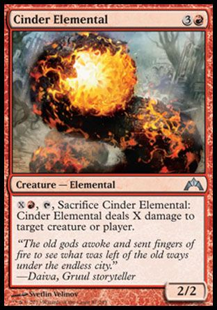 Cinder Elemental, Gatecrash