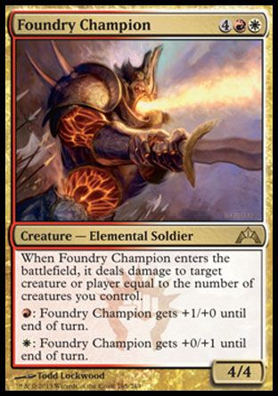 Foundry Champion, Gatecrash