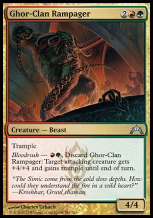 Ghor-Clan Rampager, Gatecrash